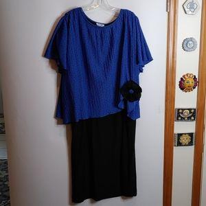 Vintage Cue Fashions Dress 24W PLUS SIZE